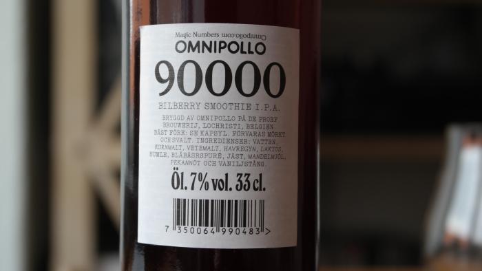 Omnipollo – Magic #90.000 Bilberry SmoothieIPA