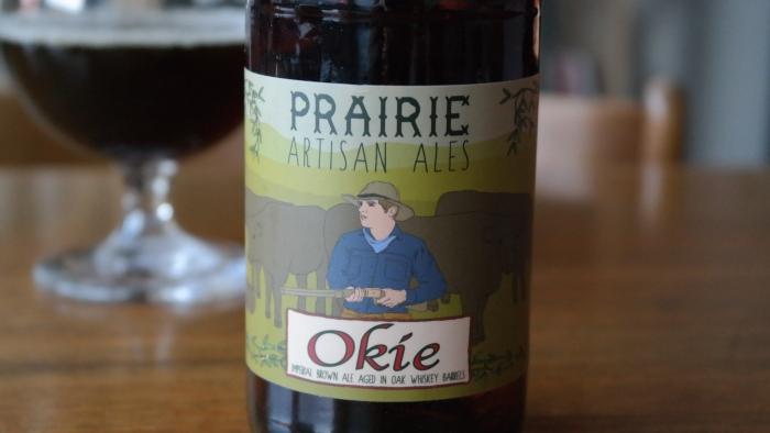 Prairie Artisan Ales – Okie Imperial Brown Ale Aged on Oak WhiskyBarrels