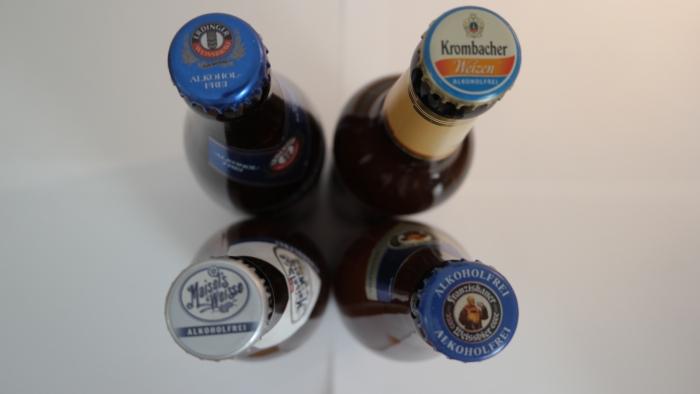 Alkoholfrie øl kap. 4: Franziskaner Weissbier / Erdinger Weissbier / Maisel's Weisse / KrombacherWeizen