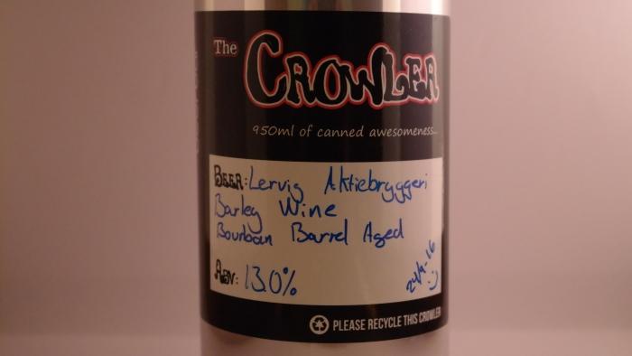Lervig Aktiebryggeri – Barley Wine Bourbon BarrelAged