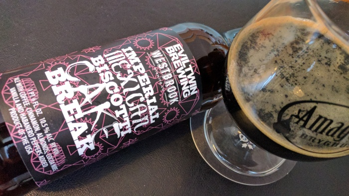 Evil Twin Brewing & Westbrook Brewing Co. – Imperial Mexican Biscotti CAKE Break