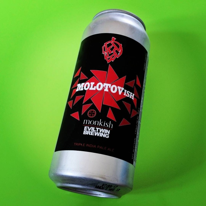 Monkish Brewing & Evil Twin Brewing – Molotovish