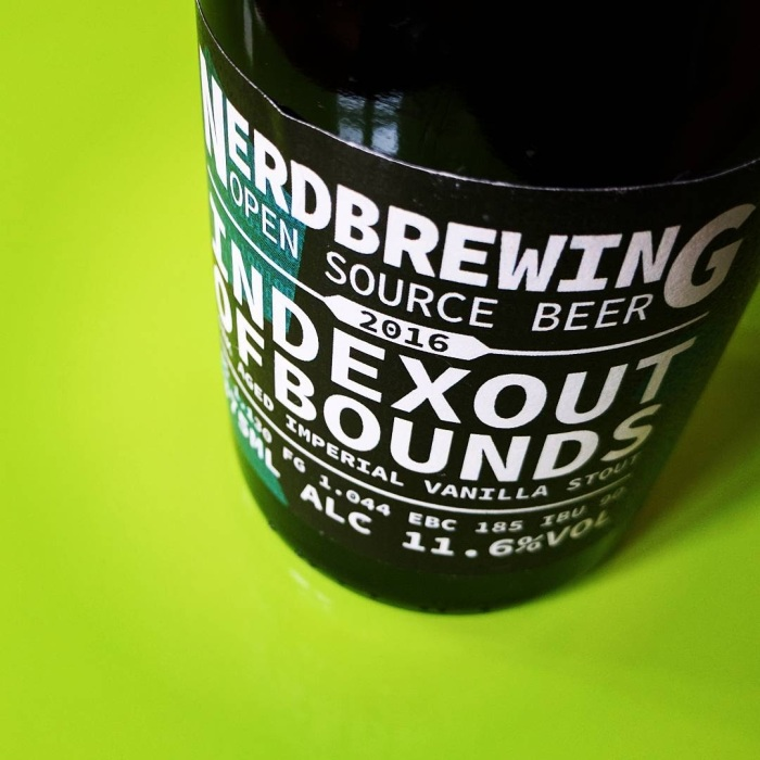 Nerdbrewing – Indexoutofbounds Oak Aged Imperial Vanilla Stout