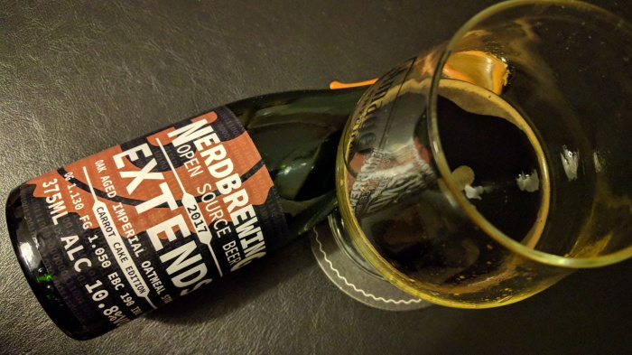 Nerdbrewing – Extends Oak Aged Imperial Oatmeal Stout – Carrot Cake Edition